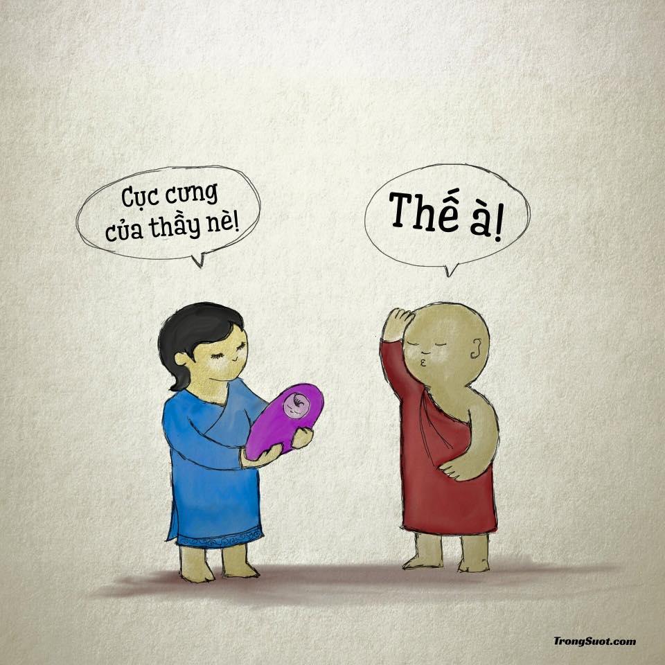 Câu chuyện: «Quy trách nhiệm cho Thiền sư»