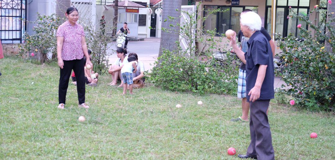 Wiser ball là môn bóng dành cho mọi lứa tuổi