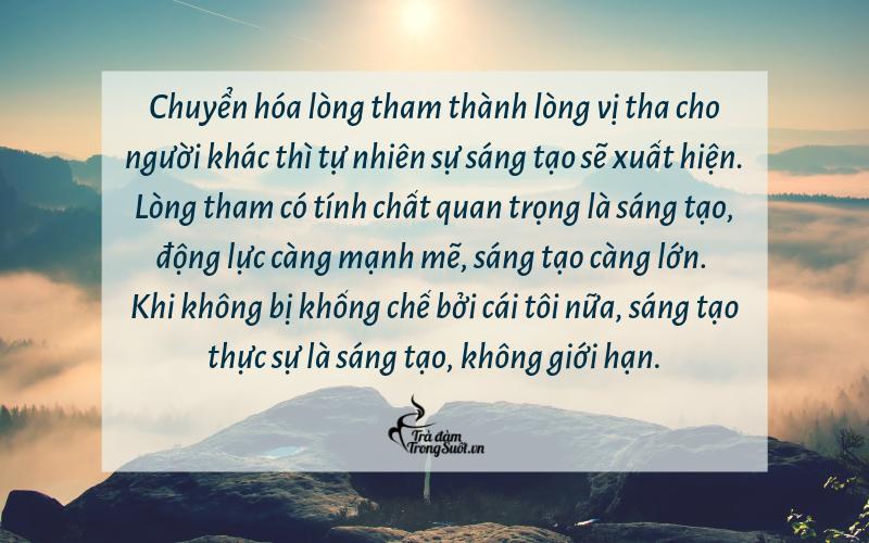 Tham lam -  Nguồn gốc yêu thương và sáng tạo 32