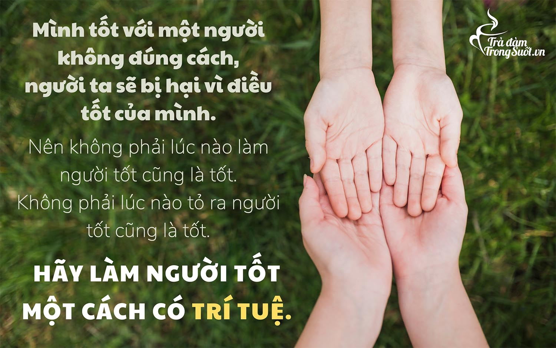 Q33_Minh tot voi 1 ng ko dung cach